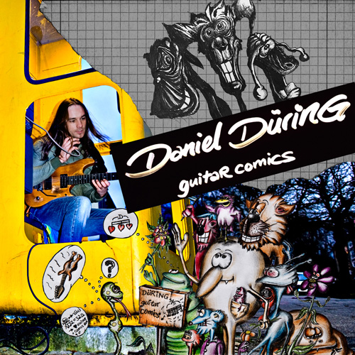 Daniel Düring - Guitarcomics - Cover